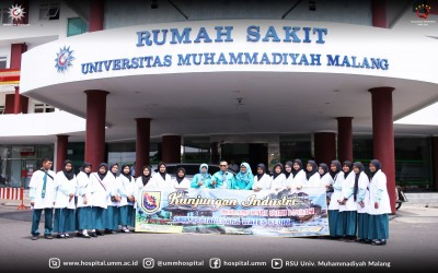 Kunjungan Industri SMK Kartanegara Wates Kab. Kediri Jurusan Asisten Keperawatan