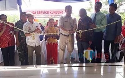 Tingkatkan Kompetensi SMK TBSM Honda, MPM Resmikan Bengkel Mitra AHASS di SMK Kertanegara Wates Kediri