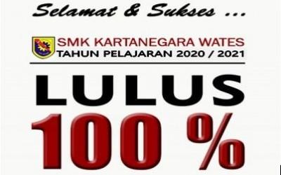 Siswa-Siswi SMK KARTANEGARA WATES dinyatakan Lulus 100 %